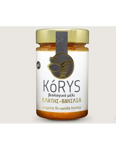 Organic fir-vanilla honey KORYS